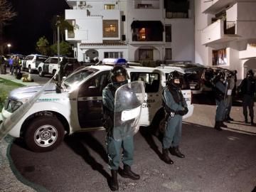 Guardia Civil en Coín