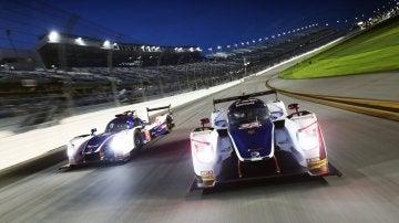 Fernando Alonso prueba la noche de Daytona