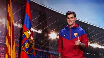Coutinho como jugador del FC Barcelona