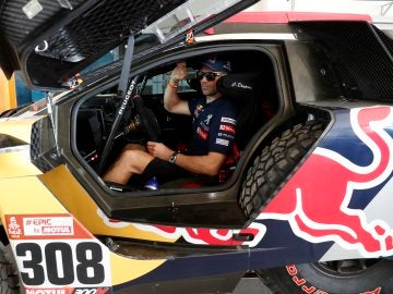 Despres ganó la segunda etapa del Dakar