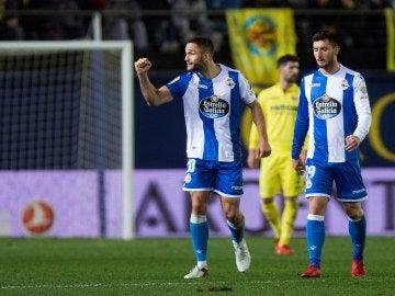 El Deportivo empata ante el Villarreal