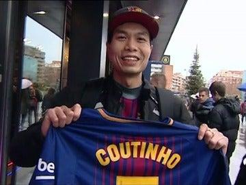 """La afición del Barcelona, sobre el fichaje de Coutinho: """"Es un buen jugador, pero el precio es desorbitado"""""""