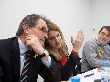 Marta Pascal y Artur Mas
