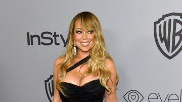 Mariah Carey en la fiesta InStyle