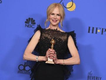 Nicole Kidman posa sonriente