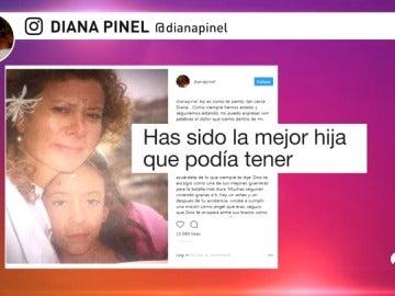 """La madre de Diana Quer rompe su silencio: """"No puedo expresar con palabras el dolor que siento dentro de mí"""""""