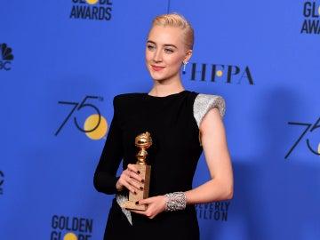 Saoirse Ronan, Mejor Actriz de Comedia por 'Lady Bird'