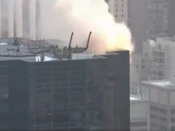 Incendio en la Torre Trump, en Nueva York