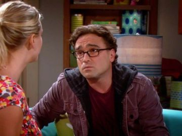 Johnny Galecki en 'The Big Bang Theory'