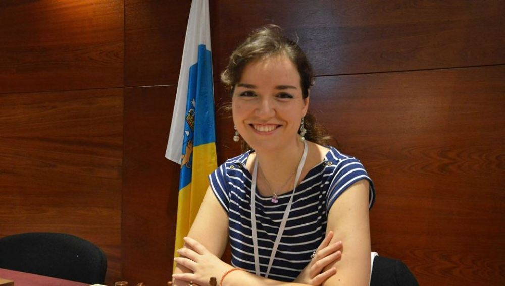 Sabrina Vega, campeona de España de ajedrez