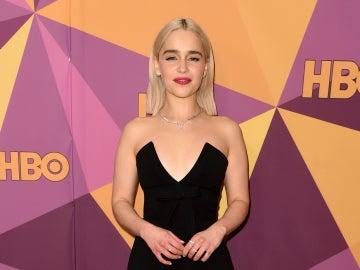 Emilia Clarke en la fiesta HBO