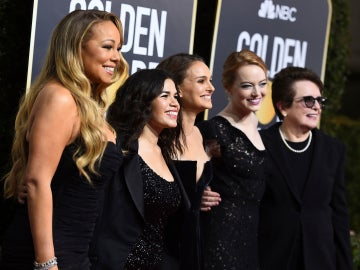 El negro, el color protagonista de los Globos de Oro 2018