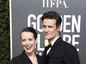 Claire Foy y Matt Smith, protagonistas de 'The Crown'