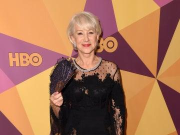 Helen Mirren en la fiesta HBO