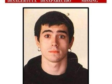 Jon Bárcena, el joven desaparecido en Gorbea