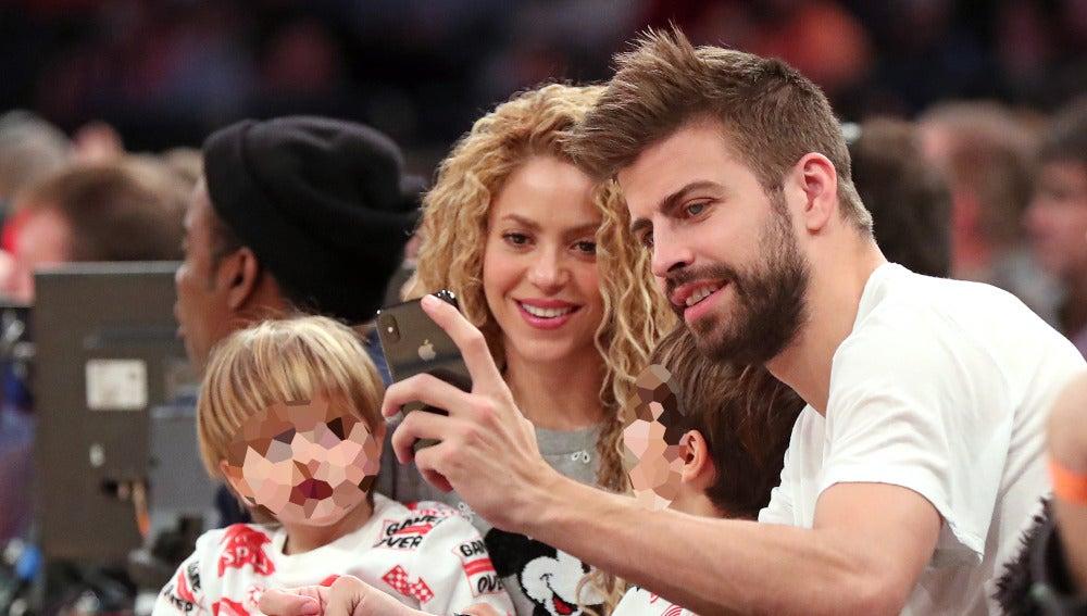 Shakira y Piqué en Nueva York