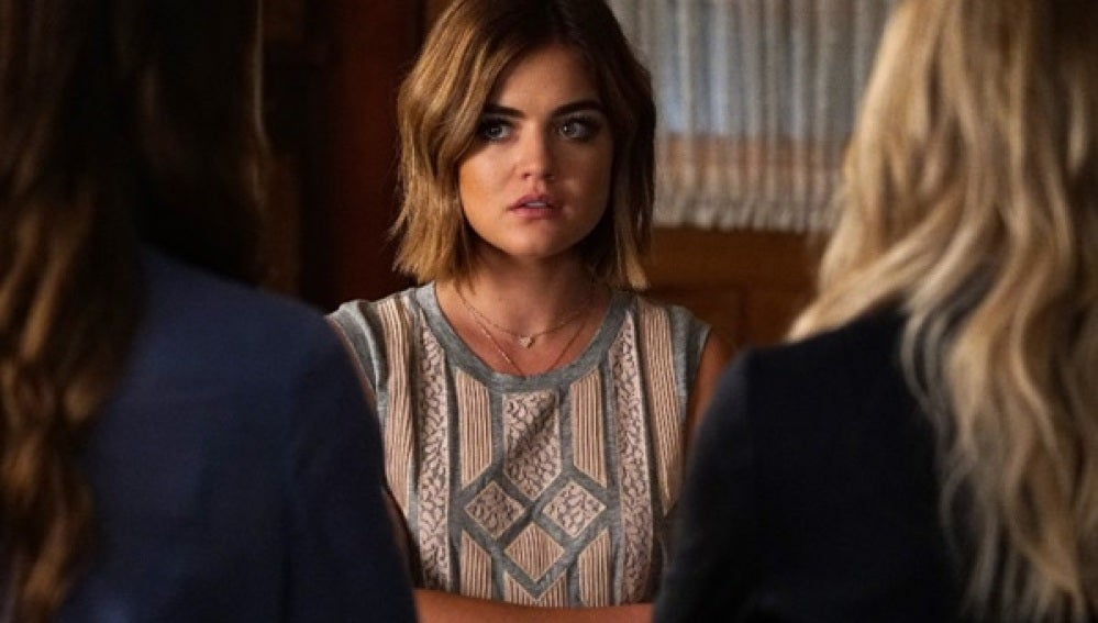 Lucy Hale en 'Pretty Little Liars'