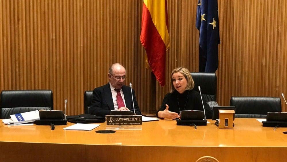 Rodrigo Rato comparece en la comisión de investigación del Congreso