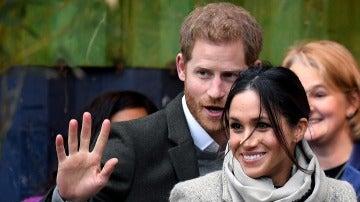 El primer acto público del año del príncipe Harry y Meghan Markle