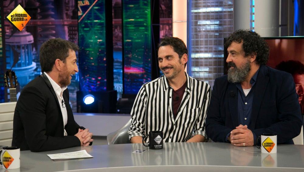 Paco León se suma el prestigioso club Platino en 'El Hormiguero 3.0'