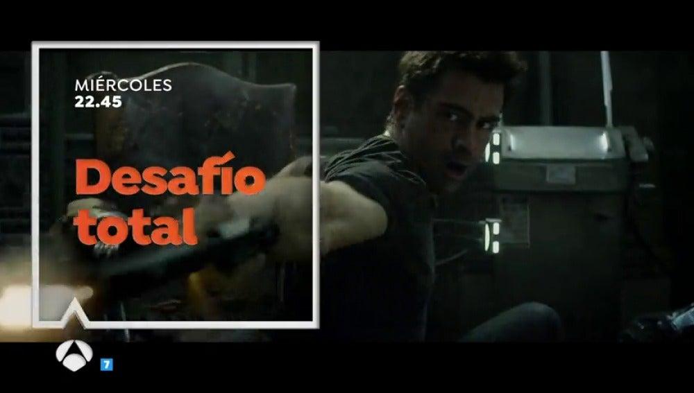 Colin Farrell protagoniza 'Desafío Total' en Antena 3