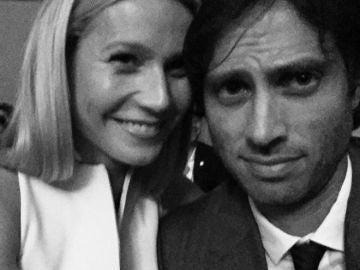 Gwyneth Paltrow y su prometido, Brad Falchuk