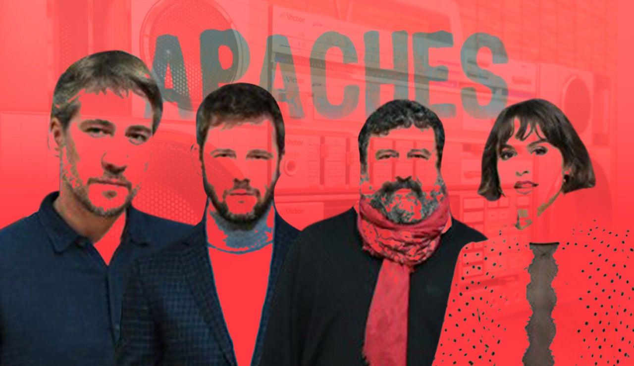 Disfruta de la playlist de 'Apaches' con canciones de los 70's y 90's