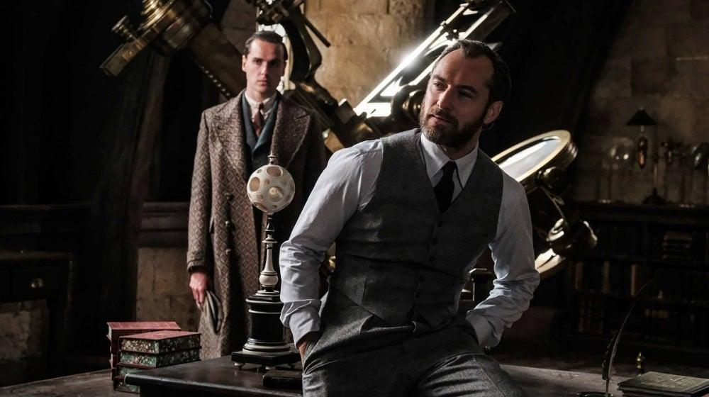 Jude Law es Dumbledore en 'Animales Fantásticos 2'