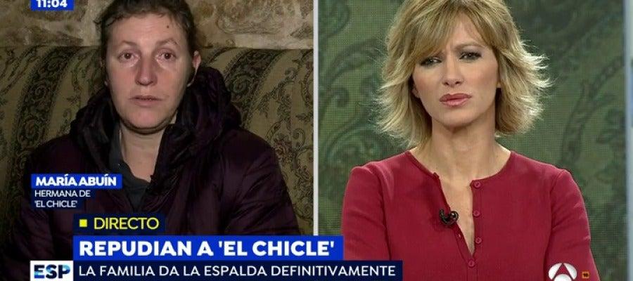 Antena 3 tv mar a abu n hermana de 39 el chicle 39 ante for Antena 3 espejo publico hoy