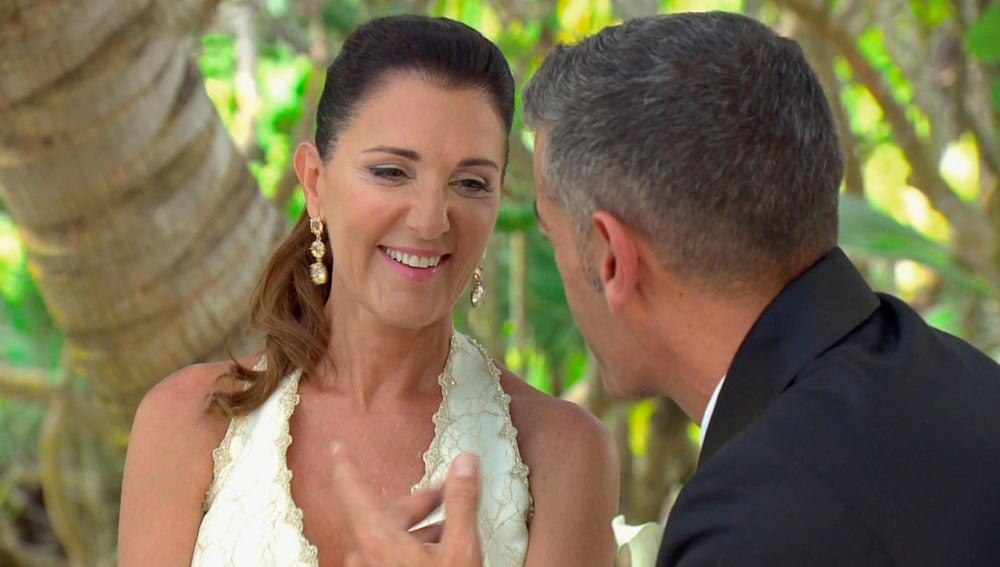 Conexión total en la primera conversación de María José y Julián como marido y mujer