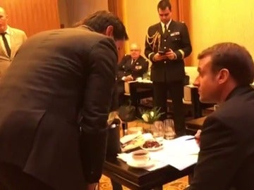 Macron pide a la UE más unidad y ambición para tratar con China y EEUU