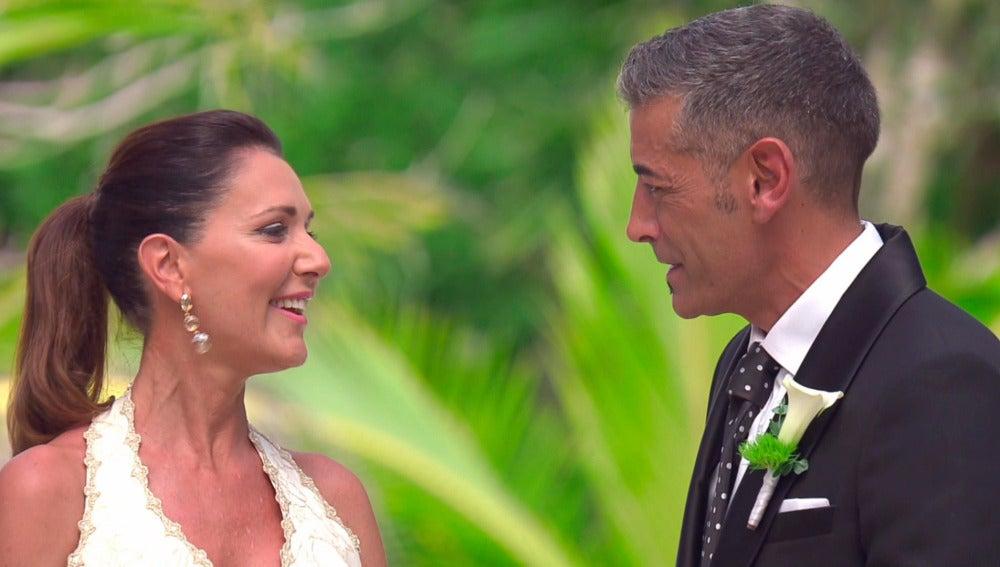 """Julián y María José en el altar: """"La primera impresión ha sido espectacular"""""""