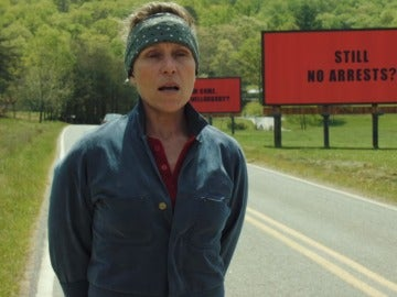 Frances McDormand en 'Tres anuncios en las afueras'