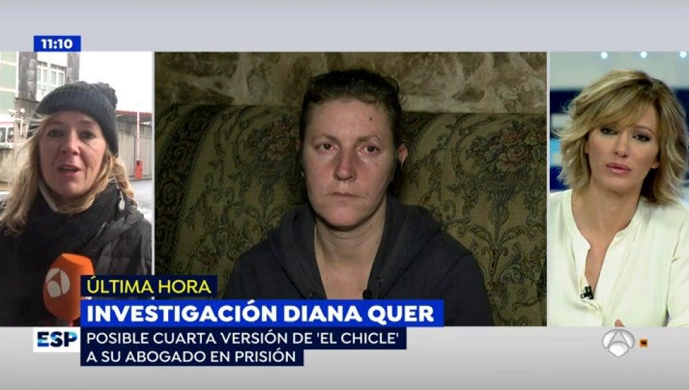 Antena 3 tv 39 el chicle 39 cambia de versi n despu s de for Espejo publico diana quer
