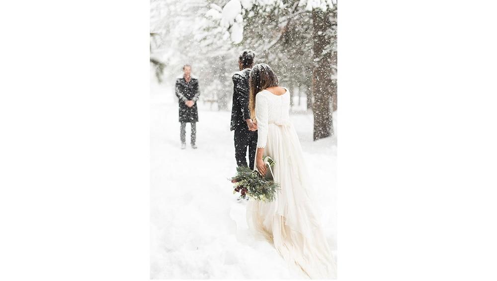 No lo dudes y adapta tu boda a este enclave perfecto para una boda en la nieve.