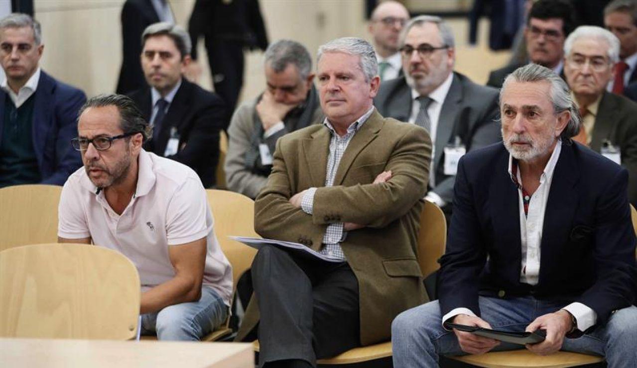 'El Bigotes', Pablo Crespo y Francisco Correa en el juicio sobre la 'trama Gürtel'