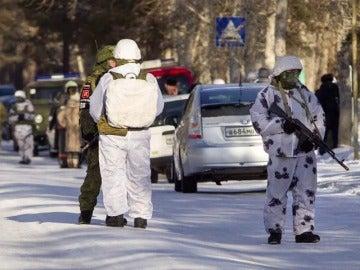 Un adolescente entra con un hacha en un colegio de Rusia y ataca a cinco niños y una profesora