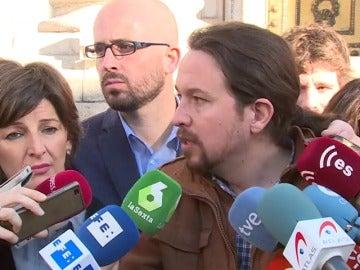 """Iglesias: """"Nombres como Gürtel, Correa o PP significan que a los ciudadanos les roban cada año 2.000 euros"""""""