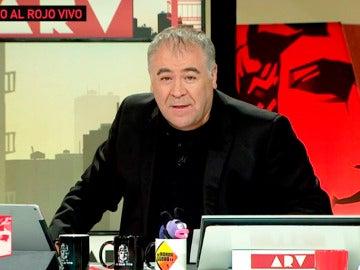 El guiño de Antonio García Ferreras a 'El Hormiguero 3.0' en 'Al Rojo Vivo'