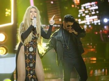 Pepa Aniorte se desata en el escenario con 'Ni tú ni yo' como Jennifer López