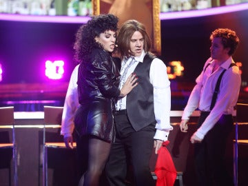 Miquel Fernández y Ruth Lorenzo brillan cantando 'Dead ringer for love' como Meatloaf & Cher