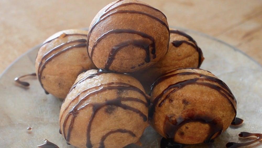 Buñuelos de Golden Oreo y Nutella