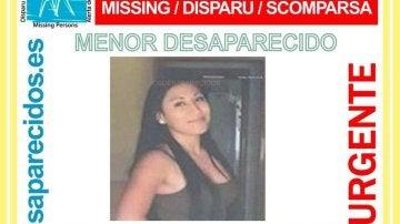 Milenka, la joven desaparecida en Torrevieja