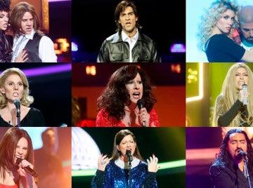 Ranking de la decimocuarta gala de la sexta edición de 'Tu cara me suena'