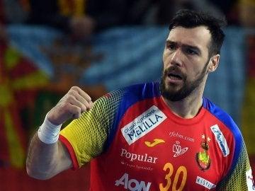 España de Balonmano ante Macedonia