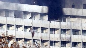 Hotel Intercontinental atacado en Kabul