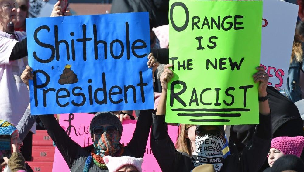 Manifestaciones en Las Vegas contra Trump