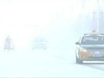 En el noreste de China viven a 40 grados bajo cero