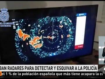 Desmantelan en Cádiz un sistema de radares usado por un grupo de narcotraficantes y detienen a 10 personas