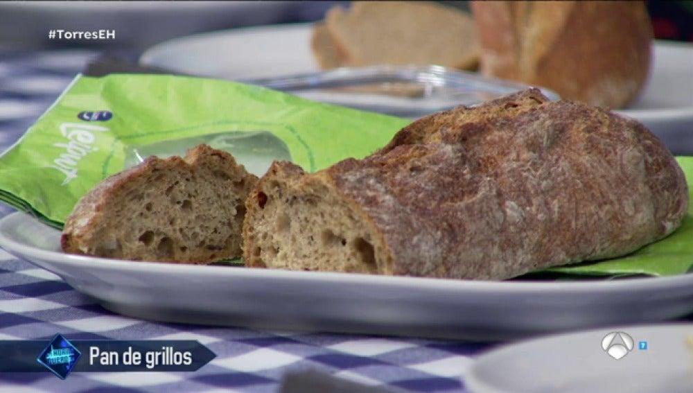 Pan de grillos, lo último en alimentación